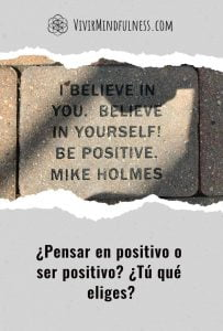Post optimismo y positivismo