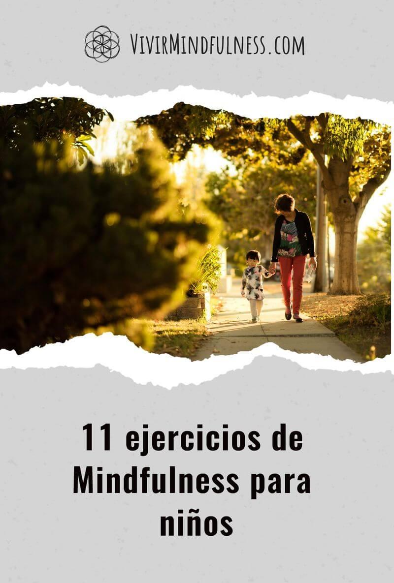 11 ejercicios de Mindfulness para niños