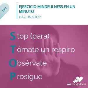STOP - Ejercicio Mindfulness